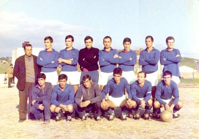 Oschirese Calcio anni settanta