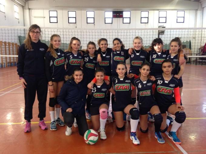 Pallavolo Ariete Oristano Under 14 femminile 2016-2017