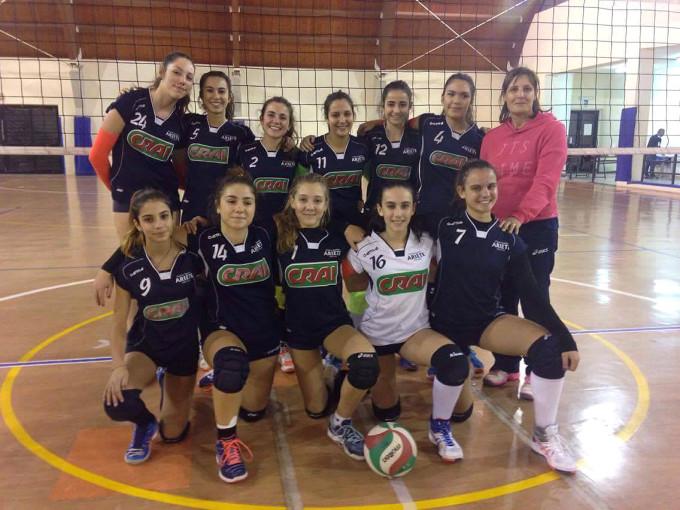 Pallavolo Ariete Oristano Under 16 femminile 2016-2017