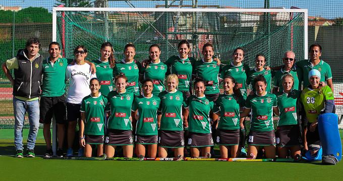 Amsicora Hockey Femminile · Cagliari 2016-2017