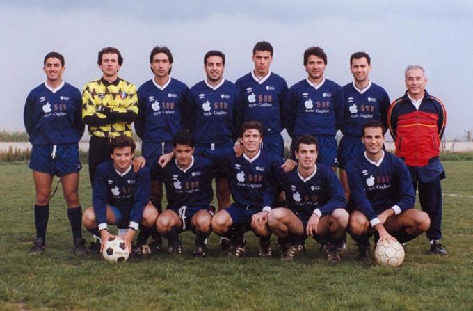 Ferrini Calcio - Cagliari 1992-1993