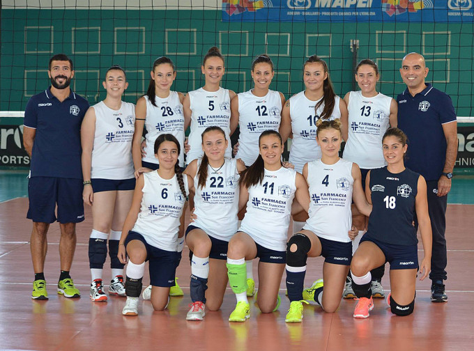 S.Andrea Volley Gonnesa 2016-2017