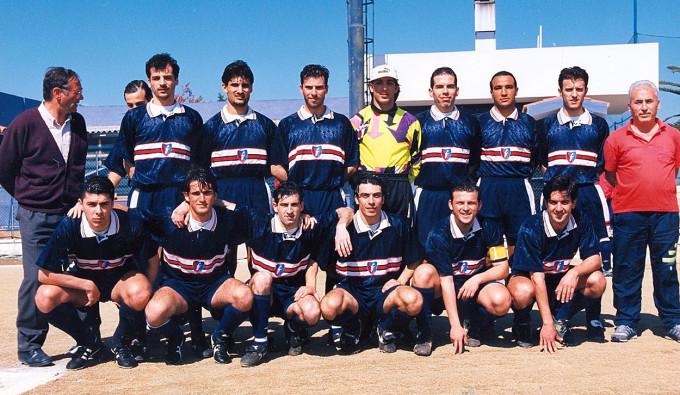 Ferrini Calcio - Cagliari 1996-1997