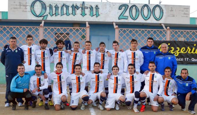 Quartu 2000 Juniores 2012-2013