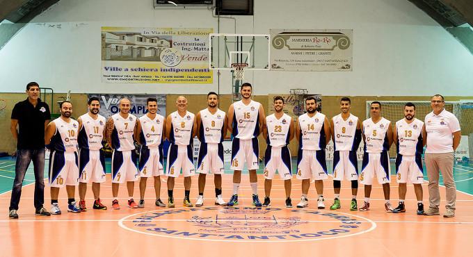 Sulcispes Basket · Sant'Antioco 2015-2016