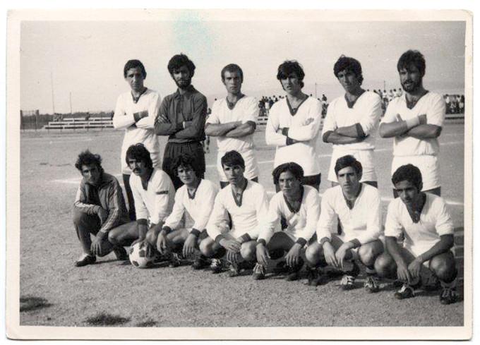 ORISTANO FINALE COPPA GENNARGENTU MEANA SARDO-ARITZO 1-0 - 1970-1971 - DUE
