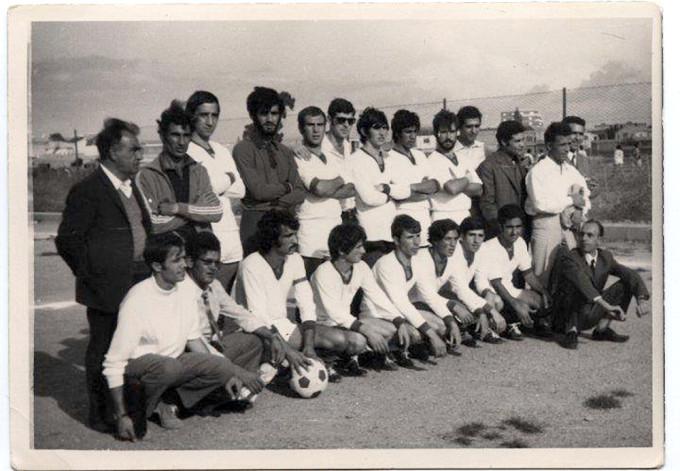 ORISTANO FINALE COPPA GENNARGENTU MEANA SARDO-ARITZO 1-0 - 1970-1971 - UNO