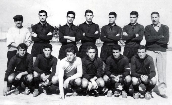 Quartu Sant'Elena Calcio anni sessanta