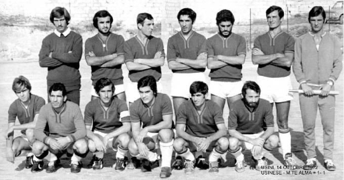 Usinese Calcio 1972-1973 Prima categoria