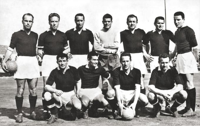 Carbonia Calcio - anni quaranta