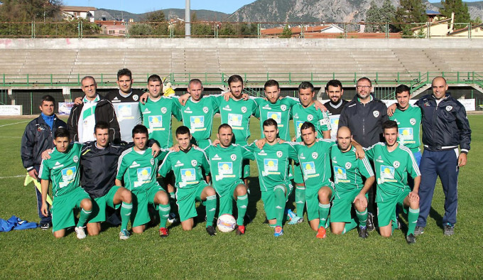 Gonnosfanadiga Calcio 2014-2015