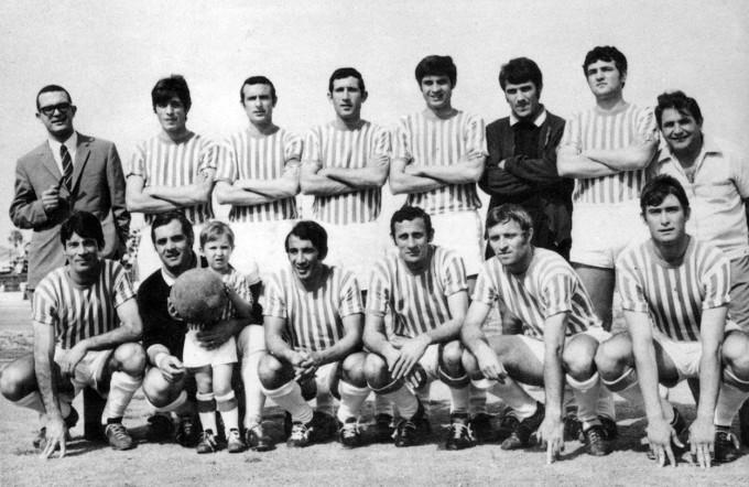 Tharros Calcio · Oristano 1968-1969 UNO
