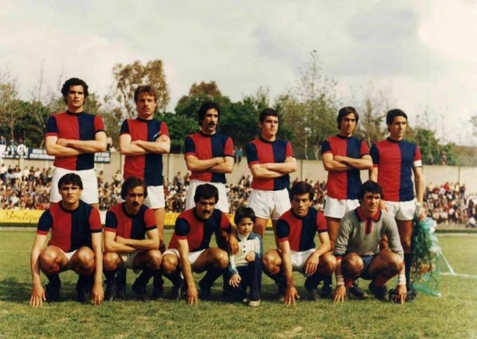 Porto Torres Calcio fine anni settanta