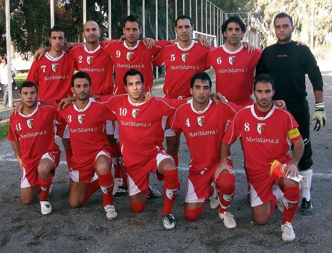 Tharros Calcio - Oristano 2012-2013