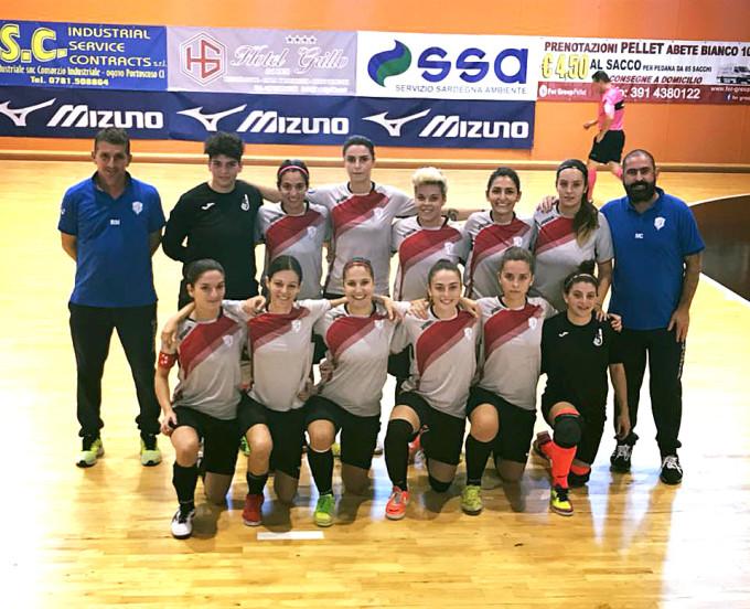 Jasnagora Calcio a 5 Femminile - Cagliari 2017-2018