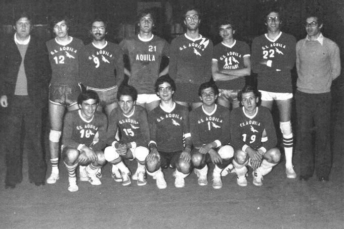 GS Aquila - Cagliari anni settanta