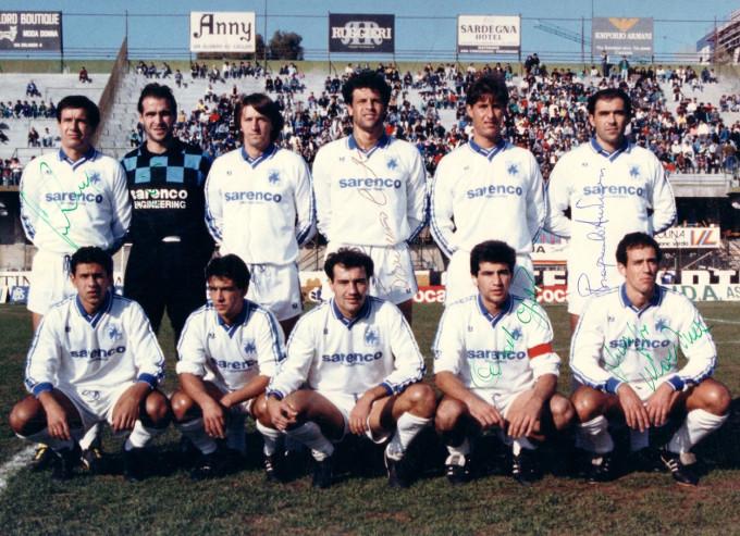 La Palma Calcio - Cagliari 1988-1989
