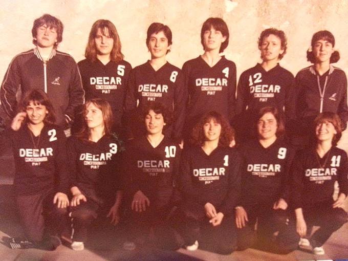 DECAR Volley - Cagliari anni ottanta