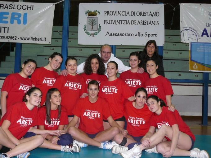 Ariete Pallavolo Under 18 - Oristano 2010-2011