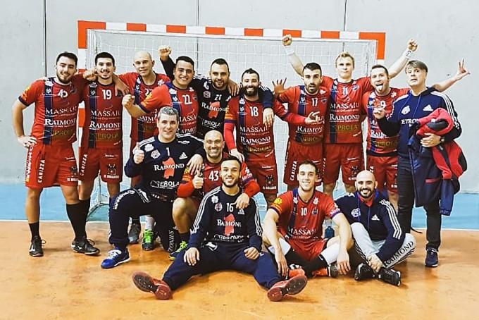 Raimond Handball Sassari · 2018-2019