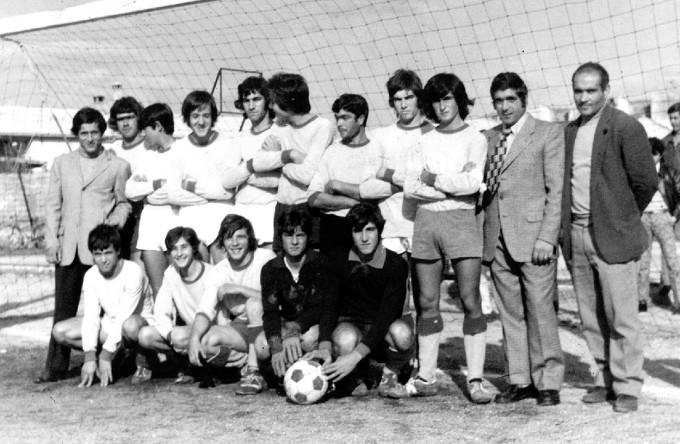 Solarussa Calcio - anni settanta TRE