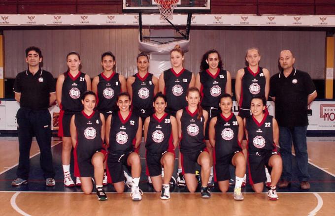Rappresentativa Femminile Basket Trofeo delle Regioni 2012