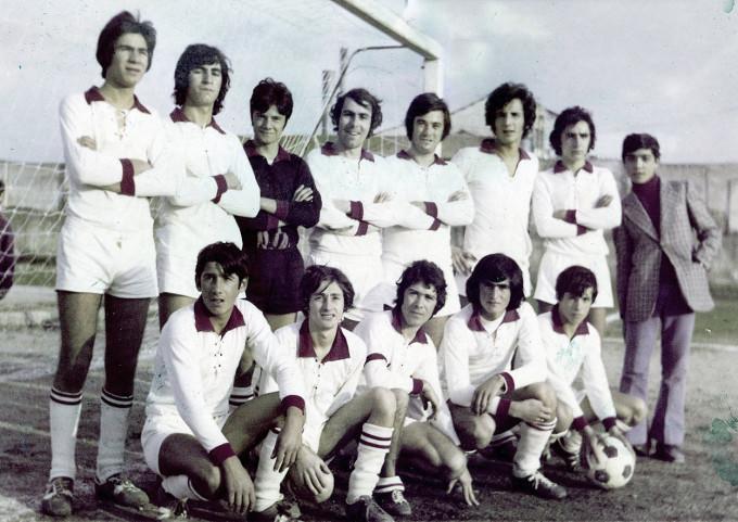 Solarussa Calcio - primi anni settanta UISP