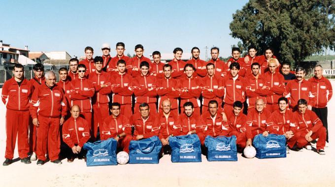 Solarussa Calcio - anni novanta DUE