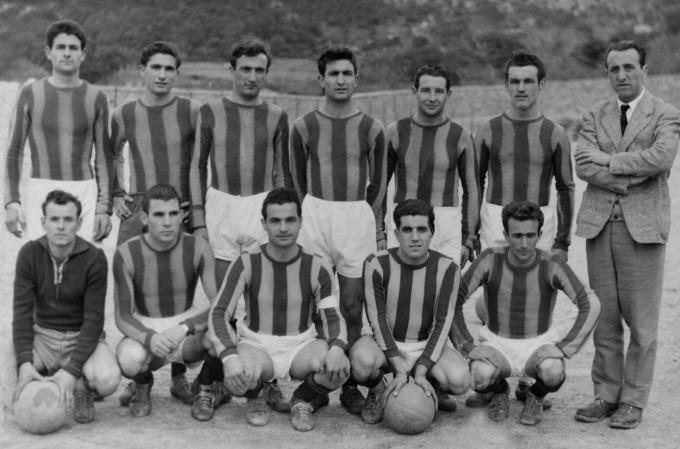 Calangianus Calcio 1954-1955