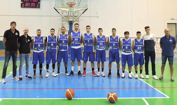 Sulcispes Basket Sant'Antioco - 2018-2019