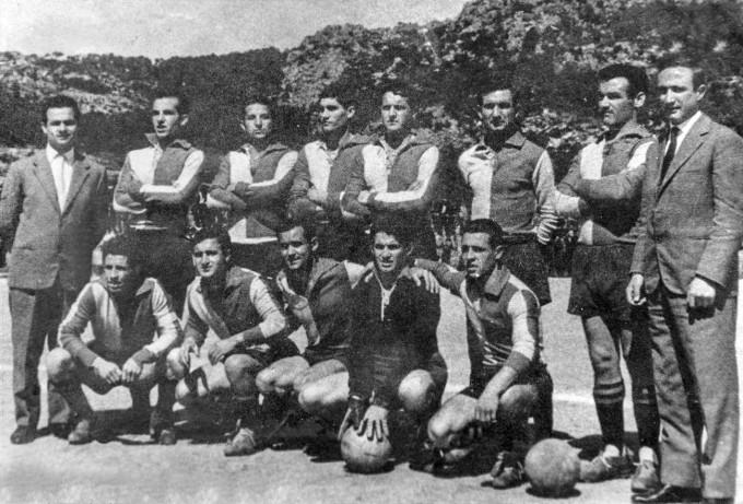 Calangianus Calcio - 1958-1959