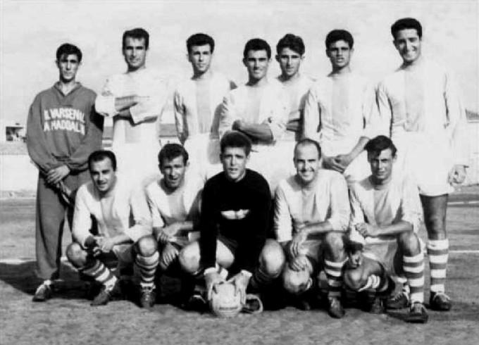 Ilvarsenal Calcio - La Maddalena 1958-1959