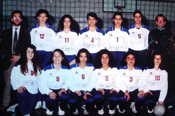 La Smeralda Volley - Ossi 1994-1995