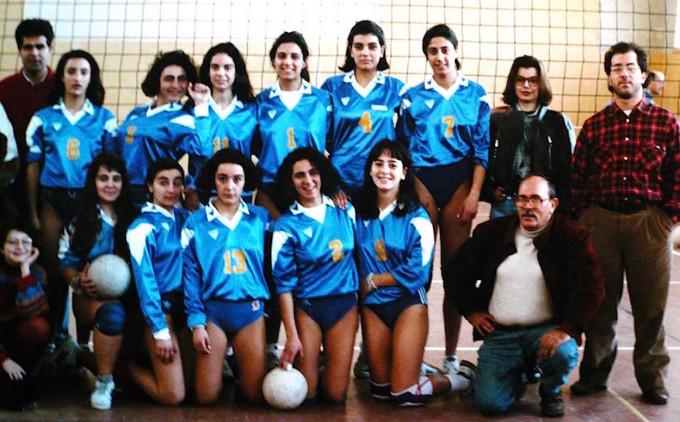 La Smeralda Volley Prima Divisione - Ossi 1993-1994