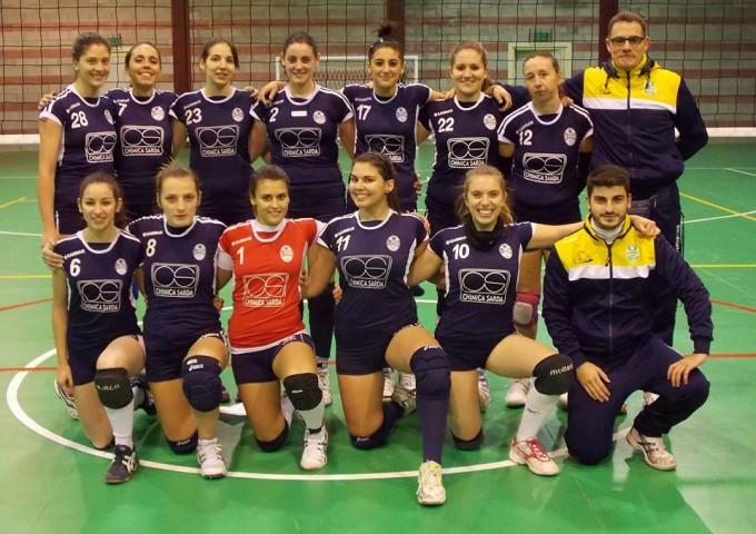 La Smeralda Volley Serie D - Ossi 2013-2014