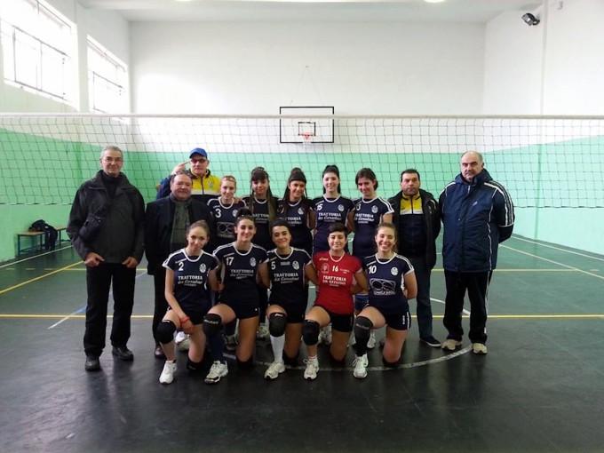 La Smeralda Volley Terza Divisione - Ossi 2013-2014