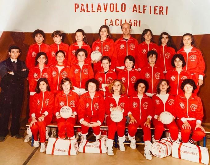 Pallavolo Alfieri - Cagliari anni 80