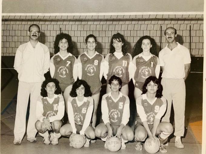 Pallavolo Alfieri - Cagliari anni 80 DUE