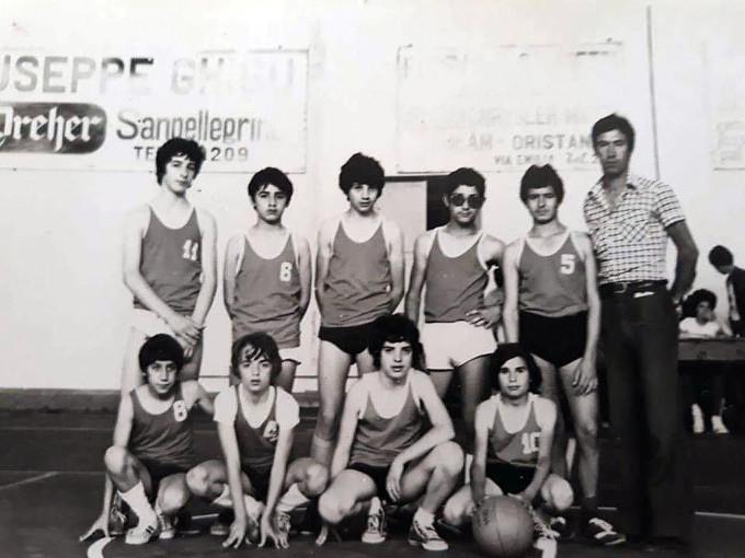 Seconda B Scuola Media Piazza Manno - Oristano 1973-1974