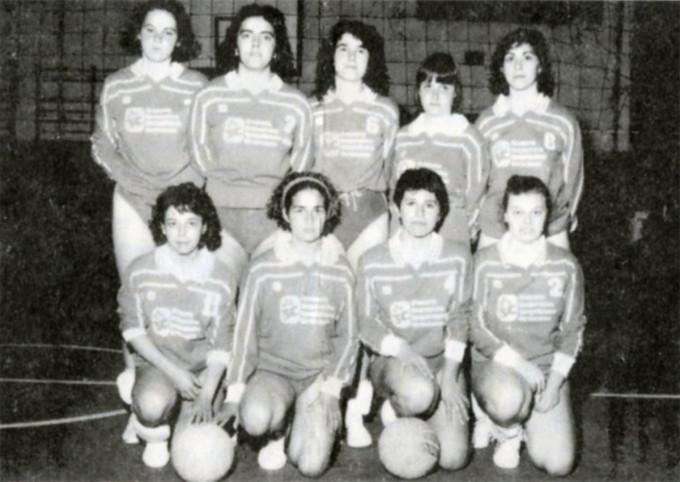 Libertas Pallavolo - Oristano 1986
